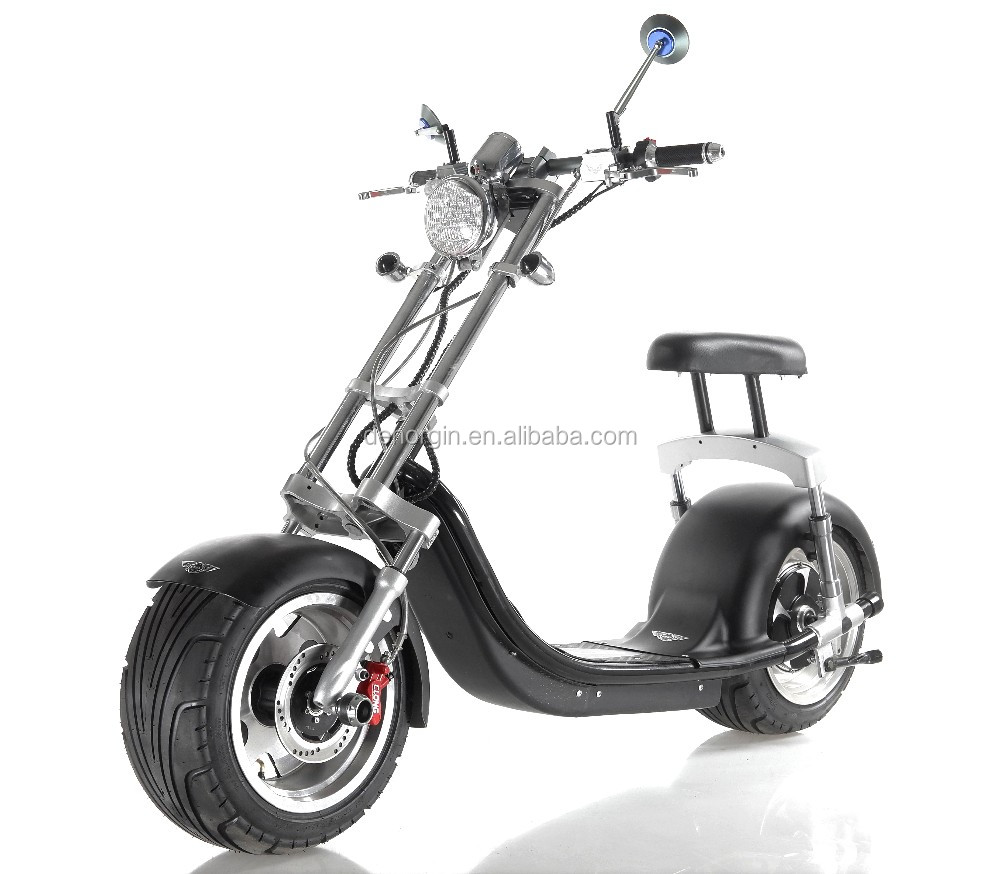 Europe warehouse drop shipping electric full suspension bike 2000w 60v 20Ah electric chopper motorcycle scooter kit