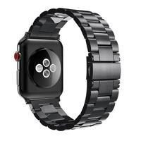 Men Stainless Steel Wach band for Apple Watch Wrist Metal Strap