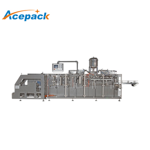 Stand up pouch snack food machine beef granules packing system