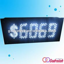 led digital price display for supermarket,electronic price display