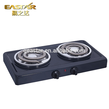 Portable Double Burner Electric Stove