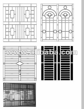 Window grill buy iron grill product on for Window design bangladesh