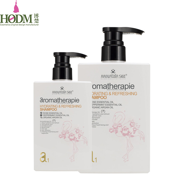 Mountain sea machinery making natural peppermint oil Hotel shampoo and conditioner