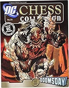 [Eagle Moss publication] Eaglemoss Publications DC Superhero Chess Figure & MagazineDoomsday Black Rook 3900230141529 [parallel import goods]