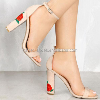 201154cd112 new design heels sandal for women 2018 low price ladies sandal block heel  sandals shoes