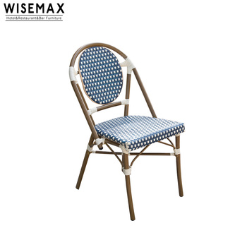 Stupendous Bamboo Look Balcony Coffee Shop Aluminum Cafe French Bistro Chair Dining Table Set For Garden Furniture Buy High Quality Bamboo Look Bistro Download Free Architecture Designs Intelgarnamadebymaigaardcom