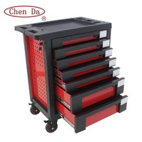 Europe market 7 drawers new style metal roller cabinet tool trolley