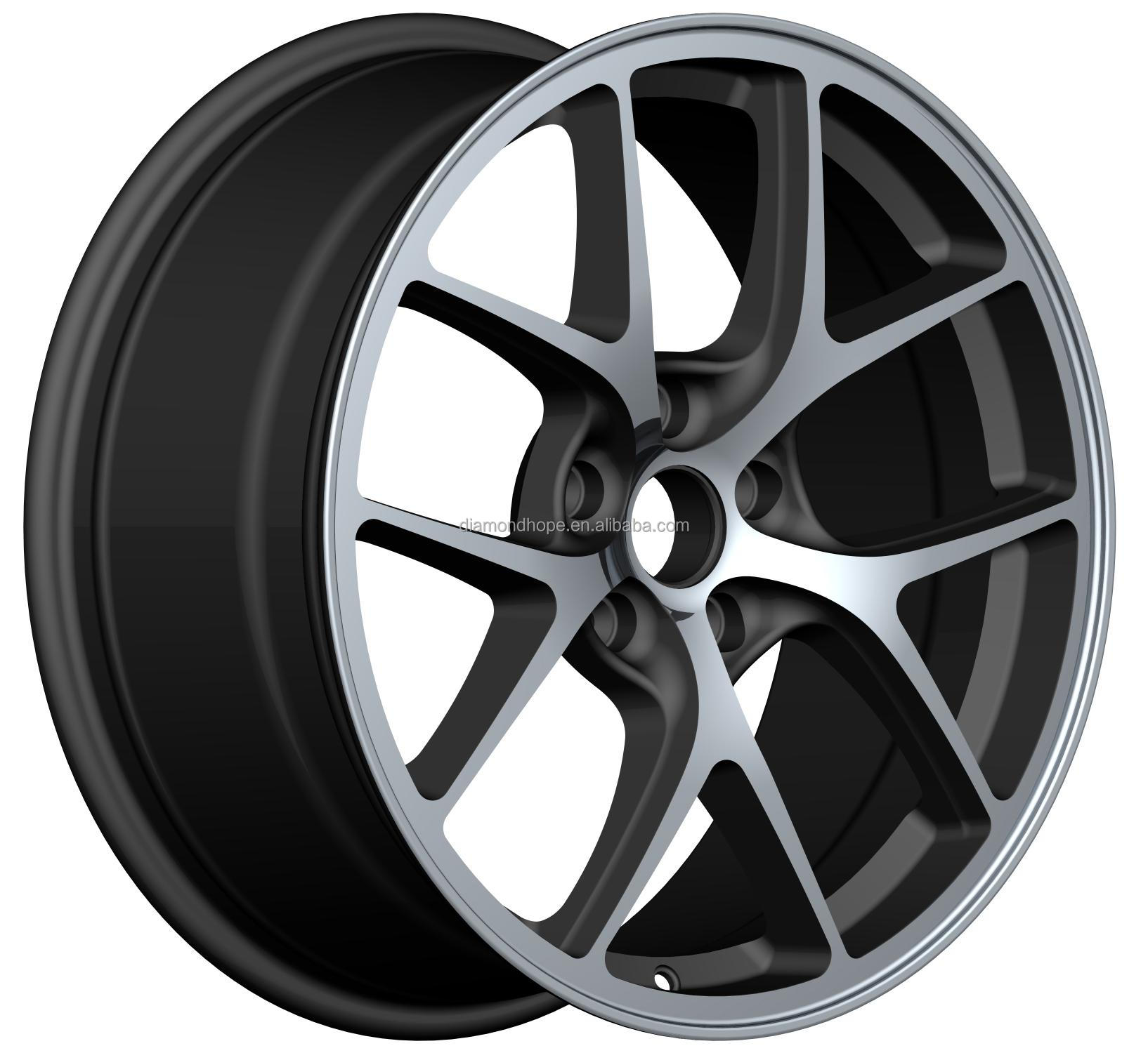 New!hot-seller Black Car Alloy Wheel Rims Export To The World 19 ...