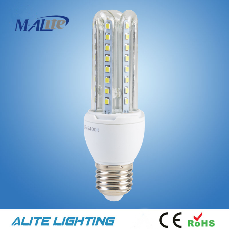 U shape led energy saving e27 led corn lamp 3w-60w