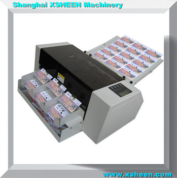 automatic name card slitterbusiness card cutting machinecard cutter xh a4 - Business Card Slitter