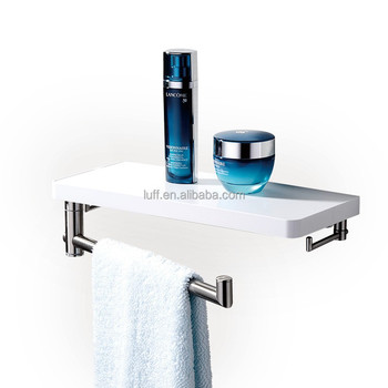 ff16051003 modern design bath abs wall mounting shelf with removable Attach Shelf to Wall
