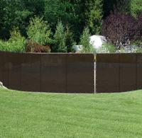 Customized privacy screen /HDPE fence shade cloth /balcony wind protection