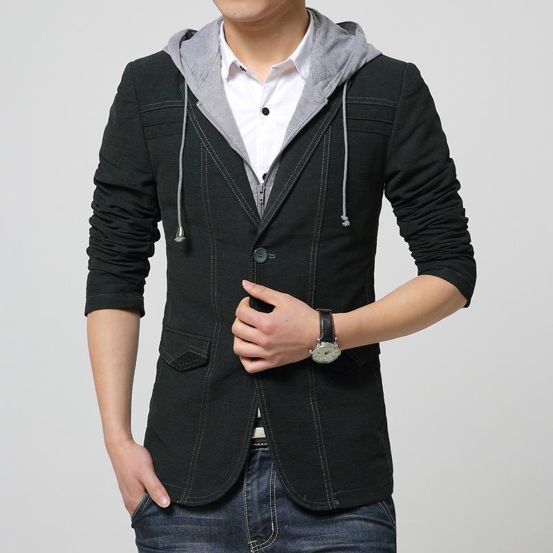 Compra hombres chaqueta con capucha online al por mayor de