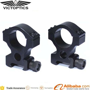 OEM Custom Tactical High Profile Picatinny Weaver Rail 1 Inch 25.4mm Scope Mount Rings