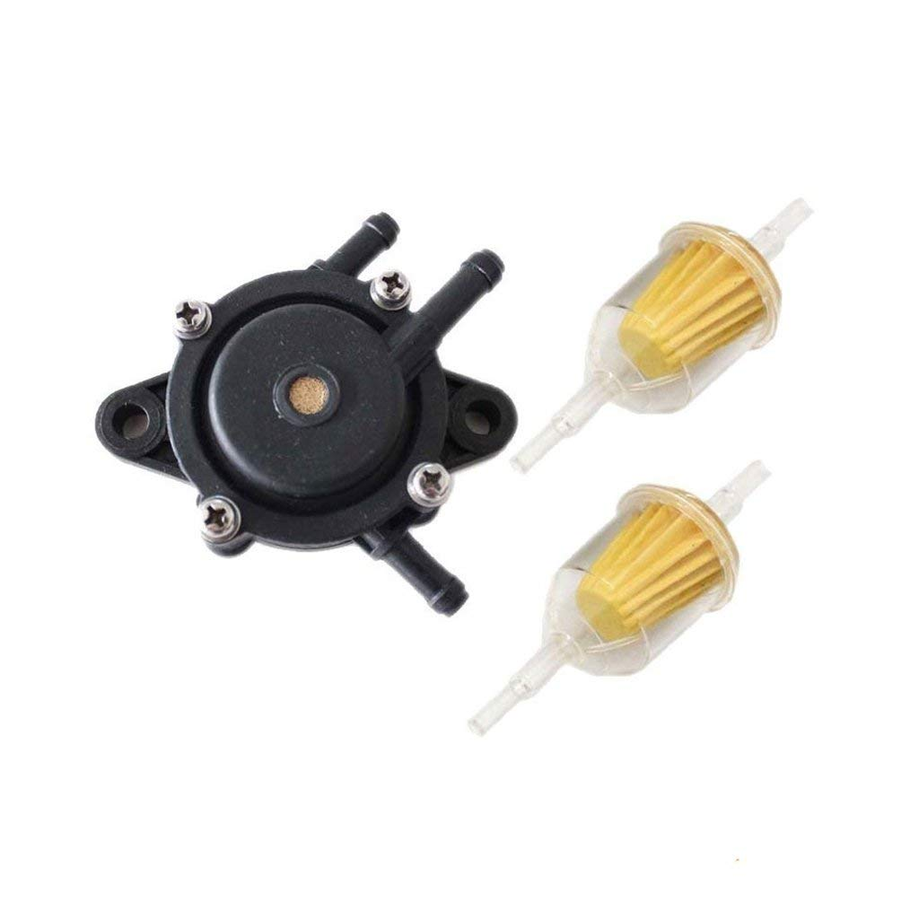 Get Quotations · HURI Fuel Pump with Fuel Filter for John Deere L107 L108  X125 X145 X140 X110 X120