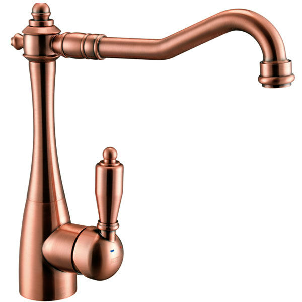 China Red Bronze Archaize Copper Kitchen Faucet