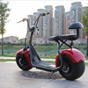 2017 handicap electric scooter with bluetooth/anti-theft/front and rear suspension