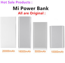 Original For Mi Power Bank 20000mAh 16000mAh 10000mAh 5000mAh,For All Mi Eco-system Products From China