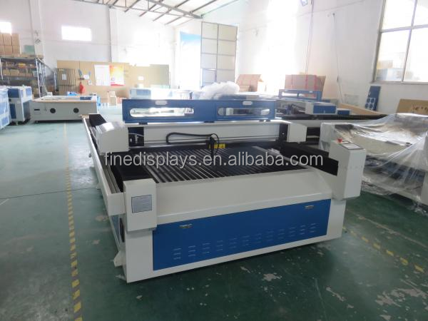 1300*2500mm blue colour water chiller laser cut machine / acrylic laser engraving for wood