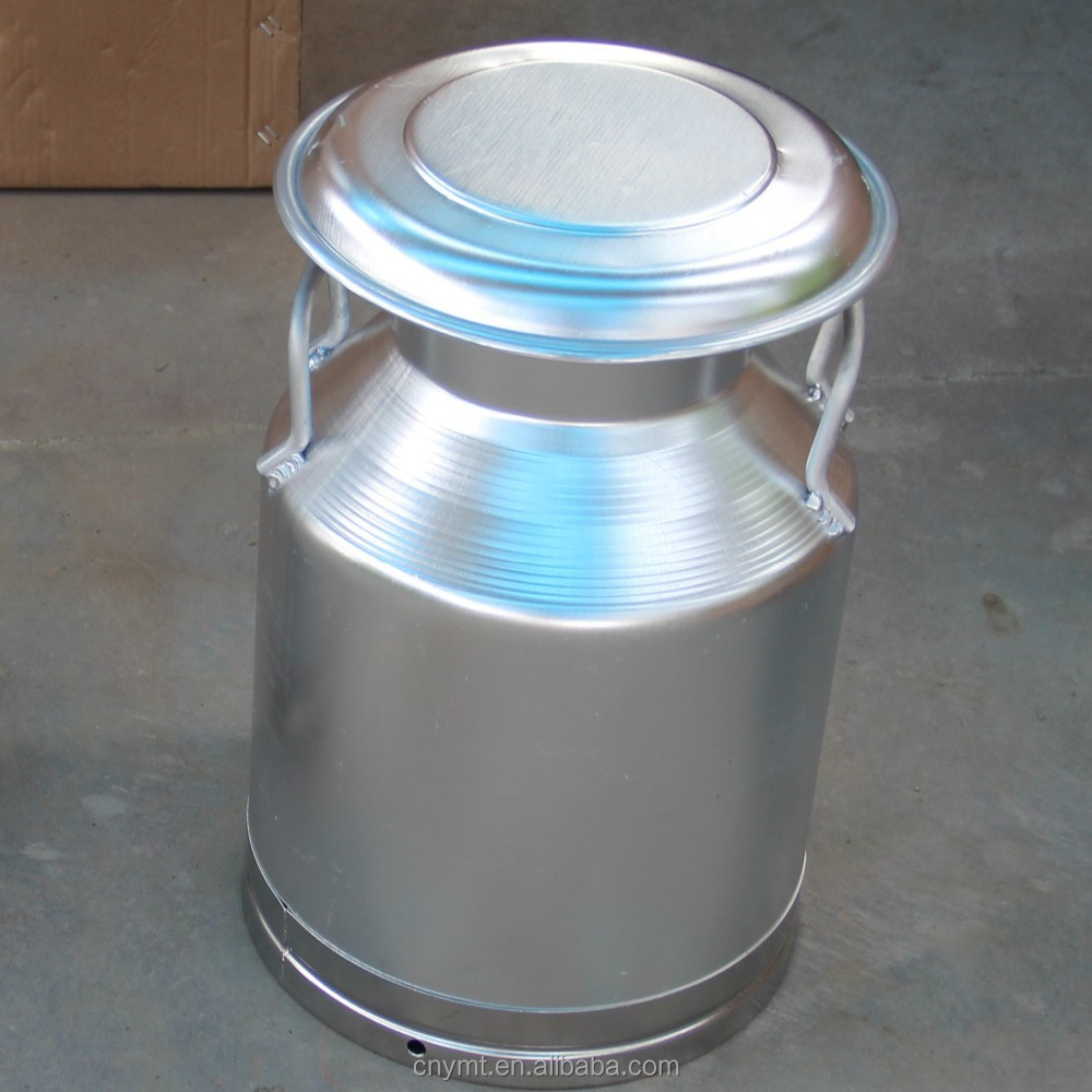 Food sanitary aluminum 100l plastic bucket
