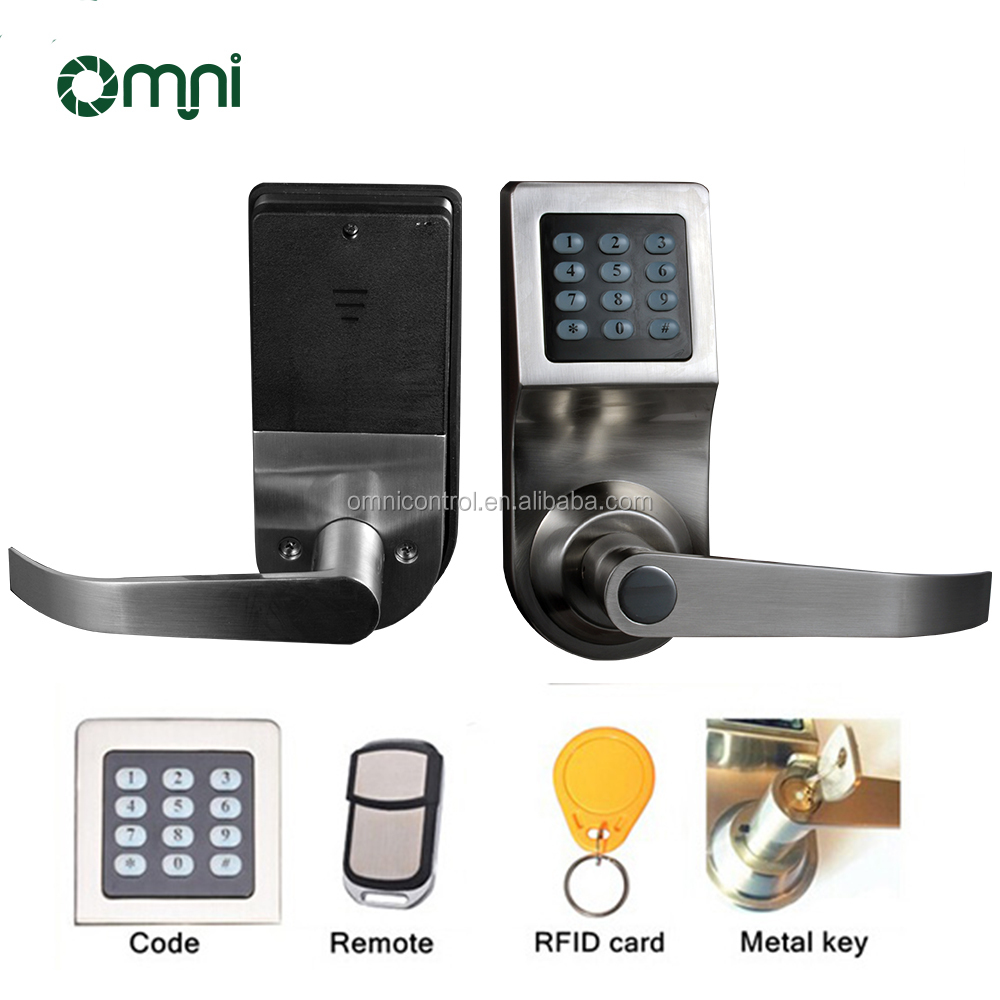 High Quality keypad Digital Door Lock Password Door Smart Lock RFID Card Lock