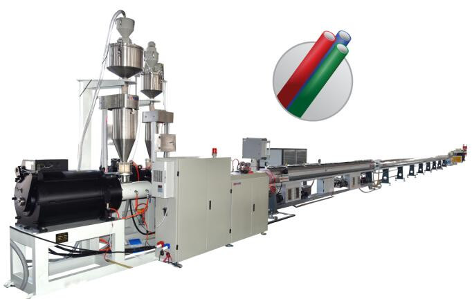 HDPE PE Micro duct silicon core tube equipment plant/Extrusion Machine Line