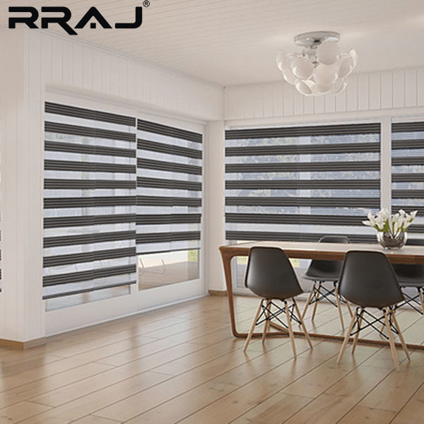 Handmade automatic latest zebra curtain designs for door