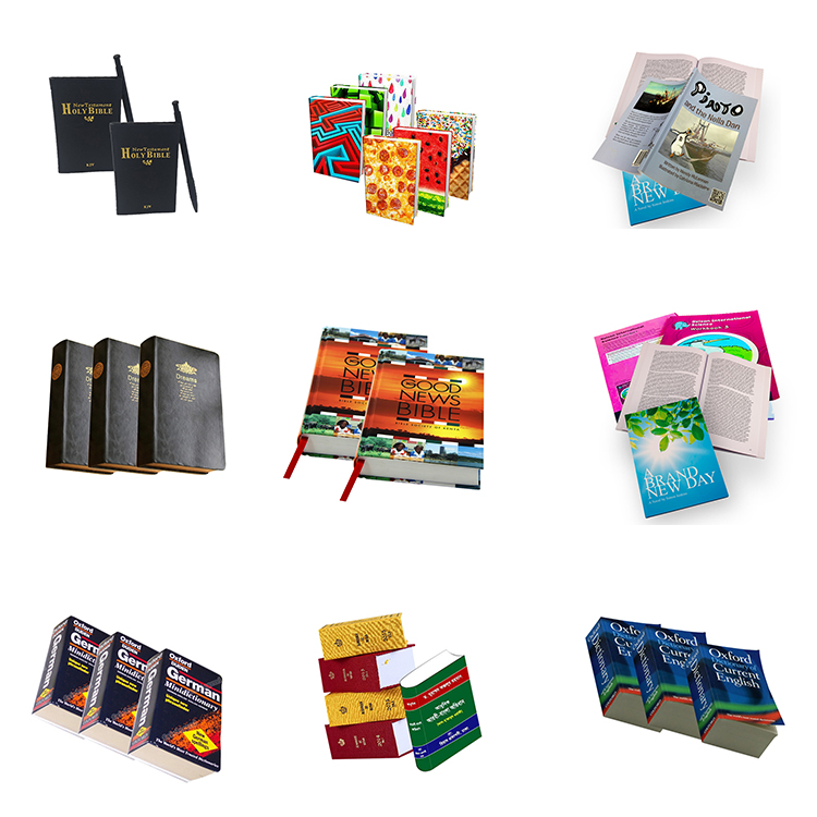 Wholesale Customized Customized Printed book printing novel