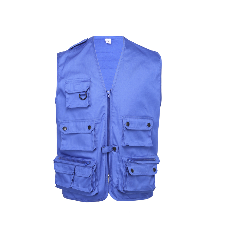 OEM fishing multi pockets safety man hunting vest