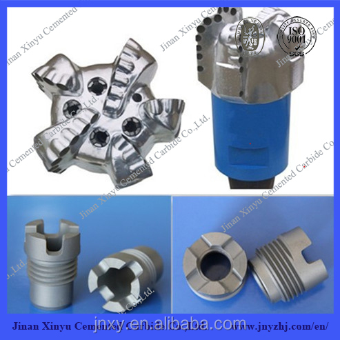 Oil and Gas Well Drill Bits Use Cemented Carbide Flushing Hole Nozzles Manufacturer