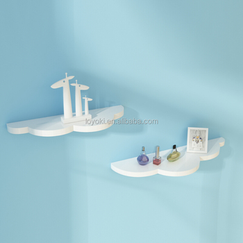 Ordinaire Lovely Design Cloud Shape Floating Shelves Small Adjustable Wall Mounted  Shelving For Home Decor