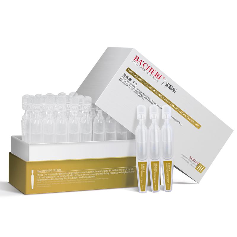 Peptide Anti Wrinkle Private Label OEM Cosmetics Organic Skin Care Whitening Face Niacinamide Serum