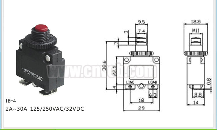 004 ib 4 electric motor overload protection motor for Electric motor thermal protection