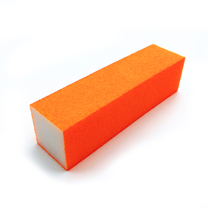 Factory Supply 80 grit Emery Sanding Block Eva Foam Nail File Nail Buffer