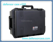 X310-High quality hard plastic long gun case with wheels