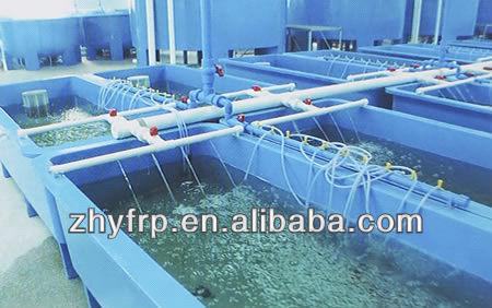 Al aire libre de fibra de vidrio del tanque de peces para for Peces para estanques al aire libre