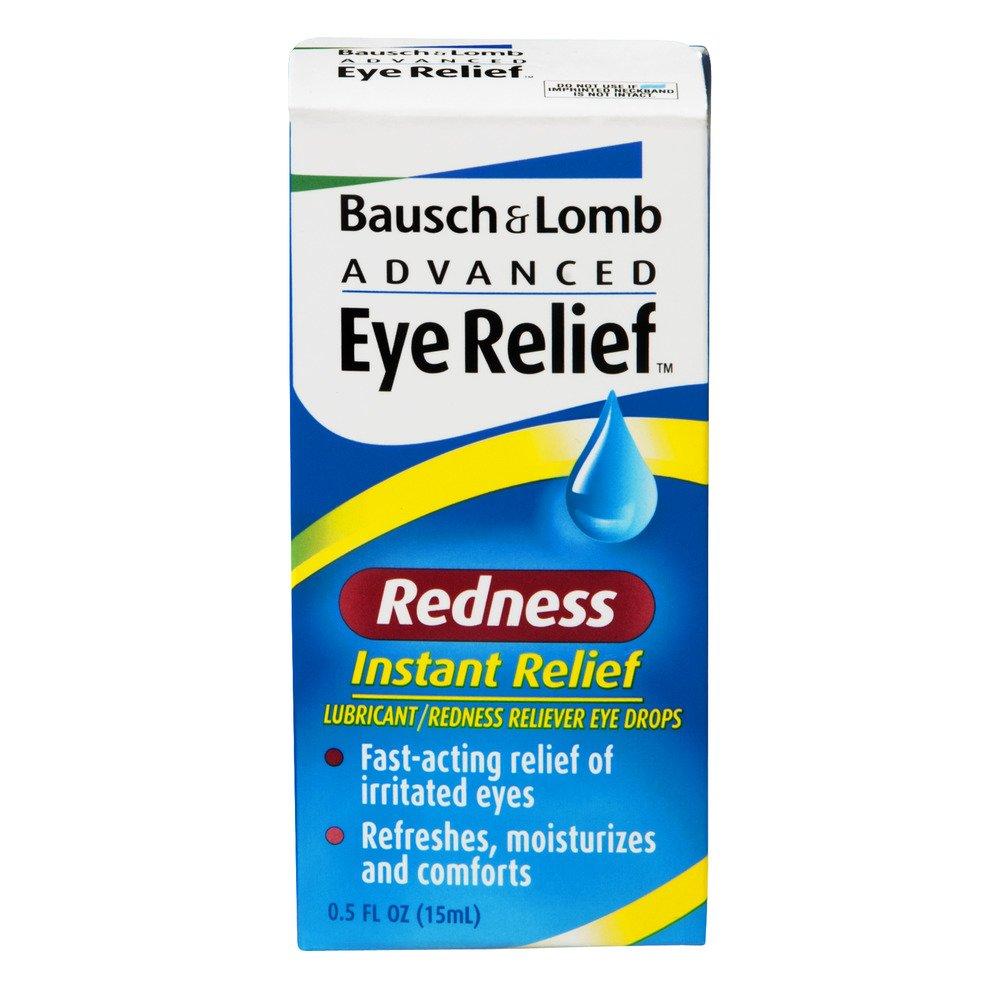 B&L Instnt Relf Drpseye Size .5z Bausch & Lomb Instant Relief Redness Eye Drops
