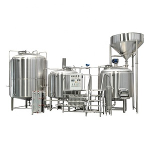 1500L Three vessel stainless steel brewing system brewhouse equipment