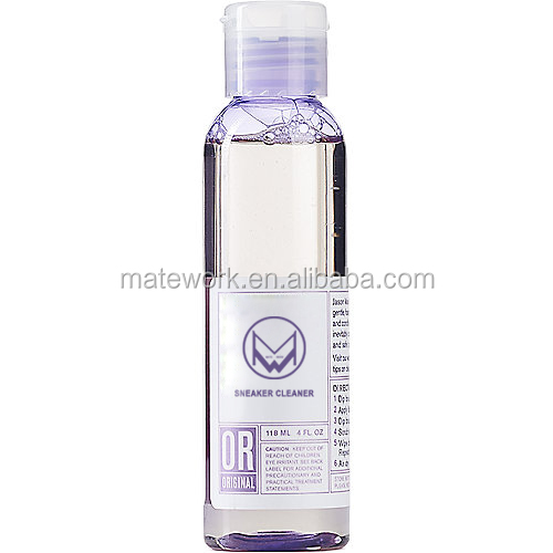 Eco-friendly&high effective 4oz shoe cleaner liquid with high quality
