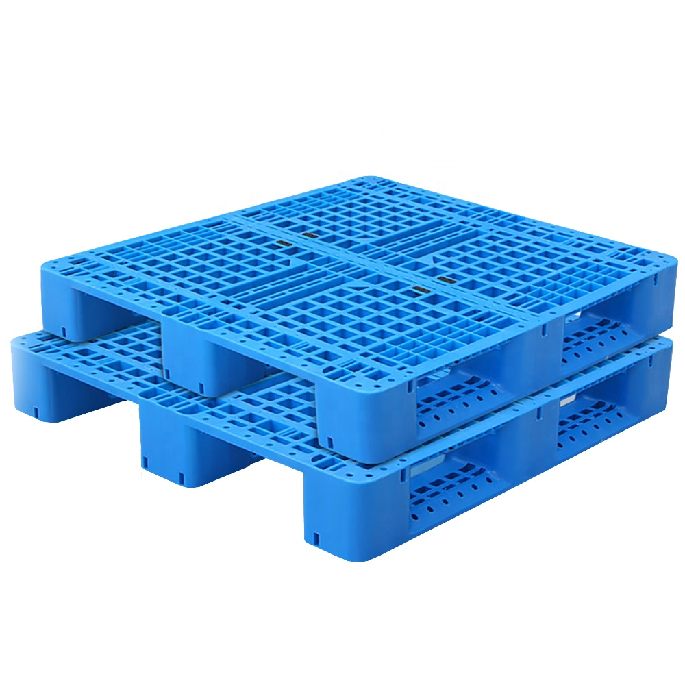 Di alta qualità heavy duty hdpe 4 way entry pallet in plastica