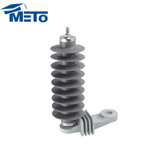 Supplies Electrical equipment 21KV 5KA High Voltage earthing system silicone rubber Surge arrester