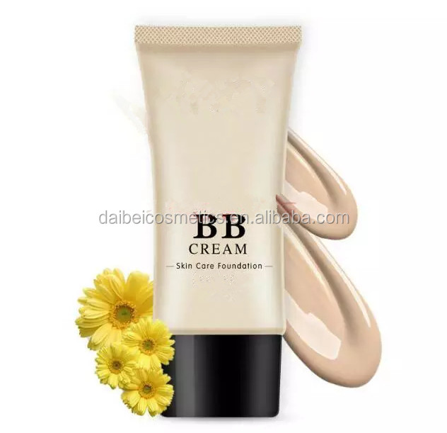 OEM cosmetic factory make-up base bb cream waterproof bb cream