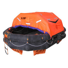SOLAS approved 12 คน Self Inflatable Life Raft