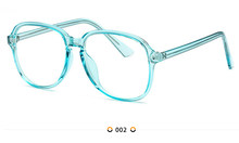 Прозрачные розовые очки с оправой для женщин свободный однотонный Цвет Невероятно милые домашние тапочки очки прозрачные линзы очки S1700(Китай)