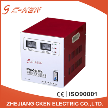 Cken Commercial Low Price Svc 5kva Single Phase Ac