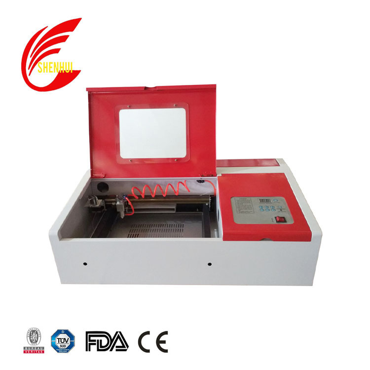 rubber stamp acrylic wood laser engraving machine price 40w 3020 3040 4040 laser