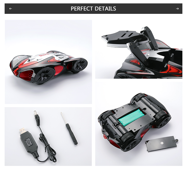 YD-216 children toy wifi camera play games rc racing car for kid