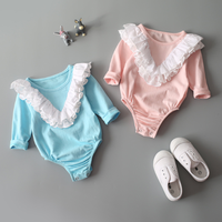 PHB11347 infant baby long sleeve romper wholesale brand name clothes