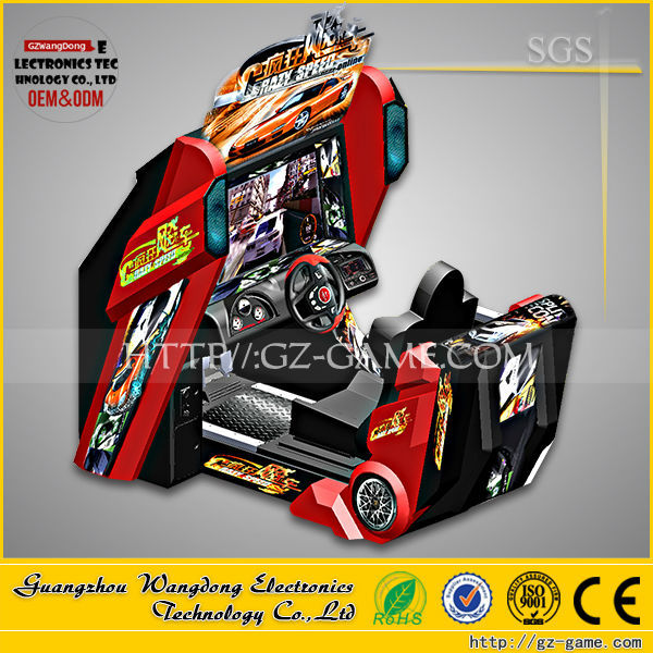 55 Inch Full-motion Arcade Car Racing Arcade Game Machine For Sale ...