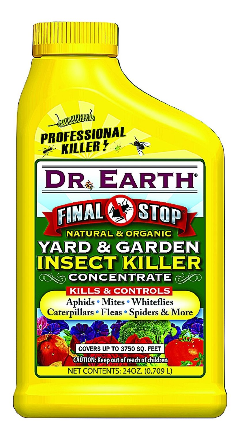 Dr. Earth Yard & Garden Insect Concentrate Killer, 24 oz